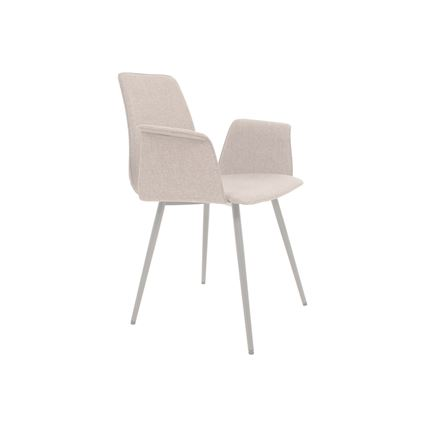 MAVERICK Upholstered Chair with Armrests